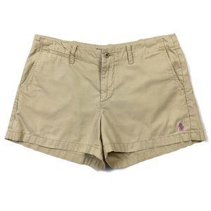 Ralph Lauren Sport Khaki Chino Shorts